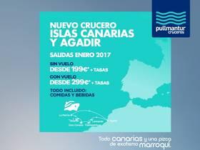 CRUCERO ISLAS CANARIAS Y AGADIR